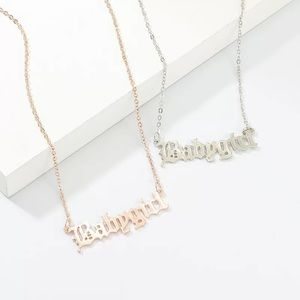 Worded necklaces !